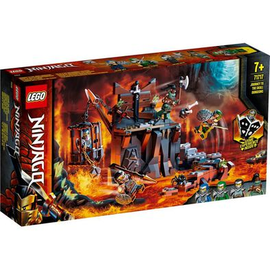 LEGO Ninjago Journey to the Skull Dungeons 71717