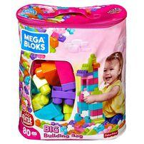 Mega Bloks Big Building Bag 80 Pieces