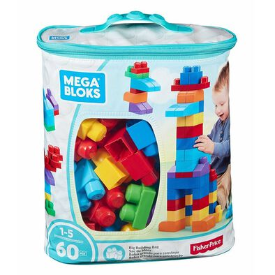 Mega Bloks Classic Big Building Bag 60 Pieces