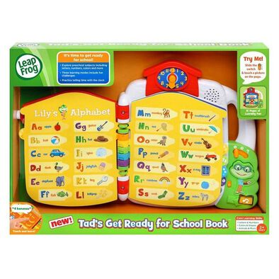 LeapFrog Get Ready For School Book