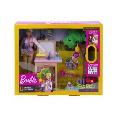 Barbie Entomologist Doll and Playset