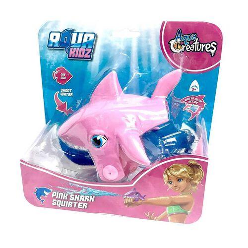 Aqua Creatures Shark Squirterz Pink