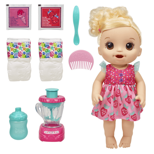 Baby Alive Magical Mixer Baby Strawberry