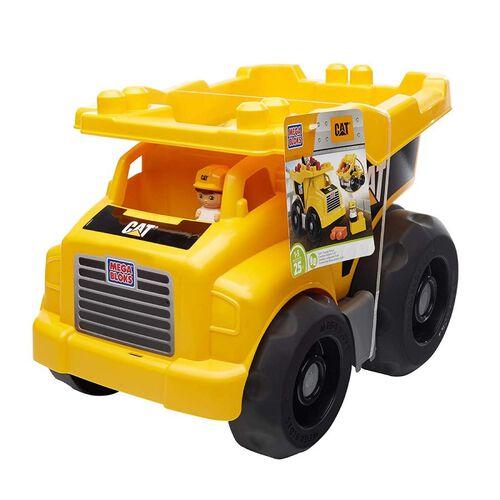 Mega Bloks Caterpillar Large Dump Truck