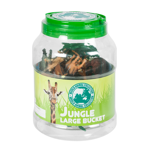 World Animal Collection Jungle Large Bucket