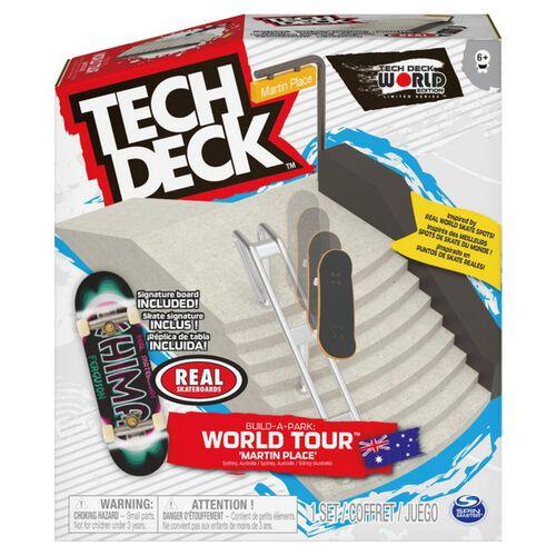Tech Deck Build A Park World Tour Martin Place