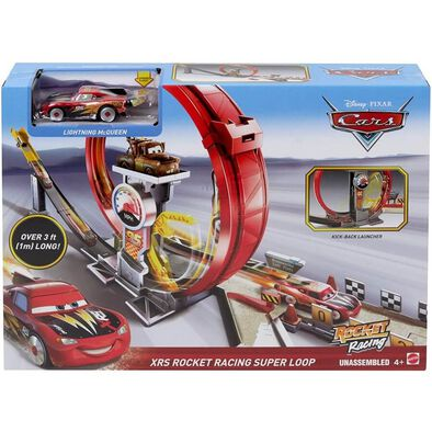 Disney Pixar Cars XRS Rocket Racing Super Loop
