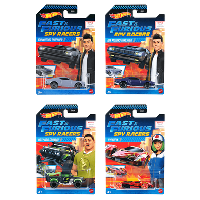 Hot Wheels Fast & Furious Spy Racers Diecast - Assorted
