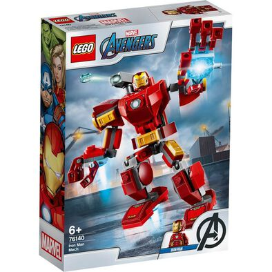LEGO Marvel Avengers Movie 4 Iron Man Mech 76140