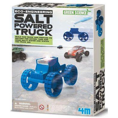 4M Green Science Salt-Powered Truck