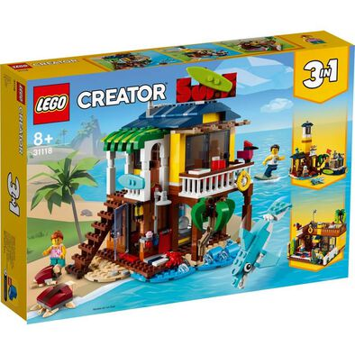 Lego Creator Surfer Beach House 31118