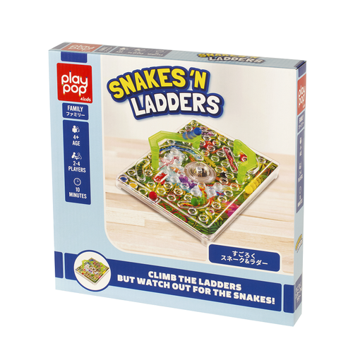 Play Pop Snakes 'N Ladders