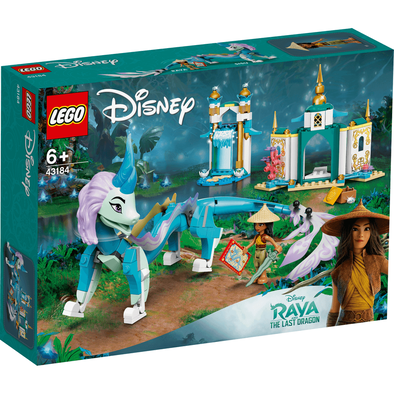 LEGO Disney Princess Raya And Sisu Dragon 43184