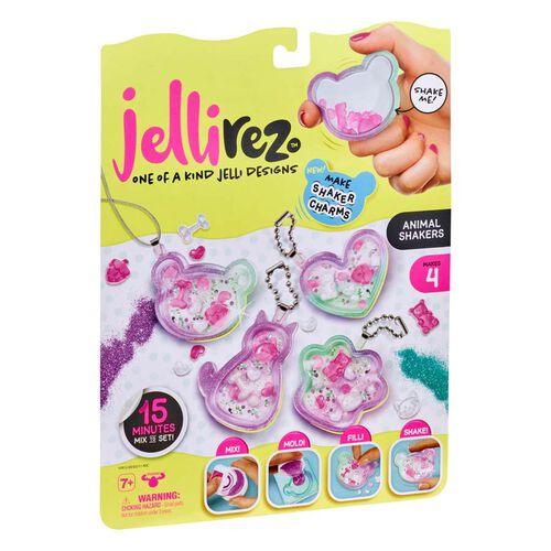Jelli Rez Shaker Charm Pack Animals