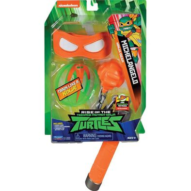 Rise Of The Teenage Mutant Ninja Turtles Michelangelo Ninja Gear