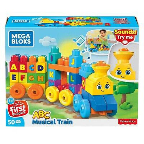 Mega Bloks ABC Musical Train