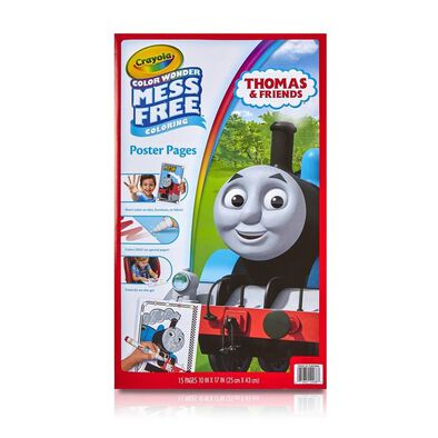 Crayola Color Wonder Thomas and Friends Poster Pages