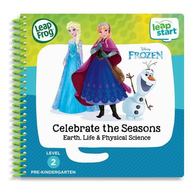 LeapFrog LeapStart Frozen Celebrate the Seasons Earth, Life & Physical Science