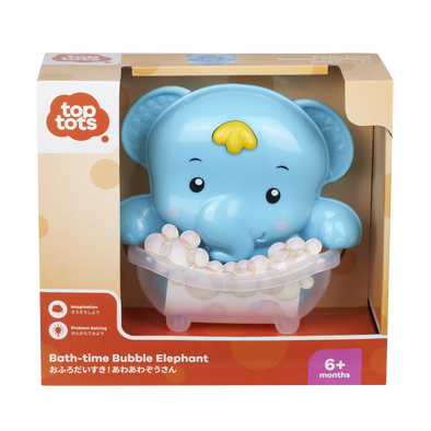 Top Tots Bath-Time Bubble Elephant