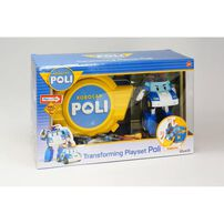 SilverLit Robocar Carry Case And Transforming Poli