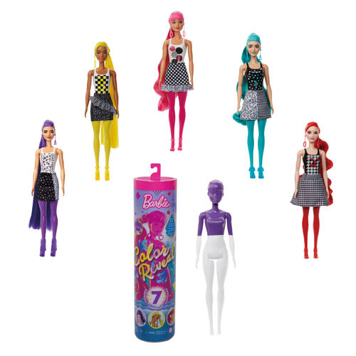 Barbie Color Reveal Doll Assorted Monochrome Series