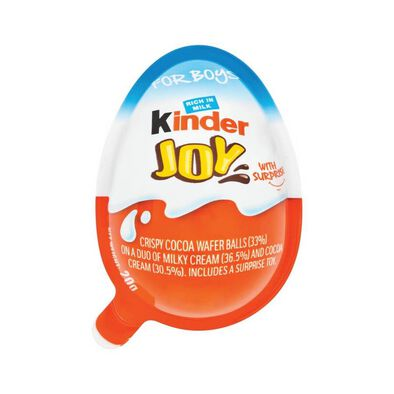 Kinder Joy With Surprise For Boys