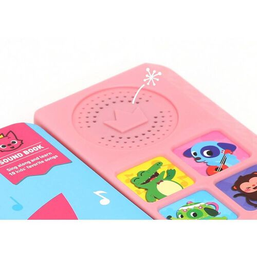 Pinkfong Sound Book Kids Favourite Songs
