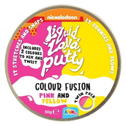 Nickelodeon Liquid Lava Putty Colour Fusion - Assorted