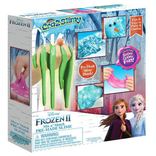 Cra-Z-Art Disney Frozen 2 Mix n' Match Pre-Made Slime