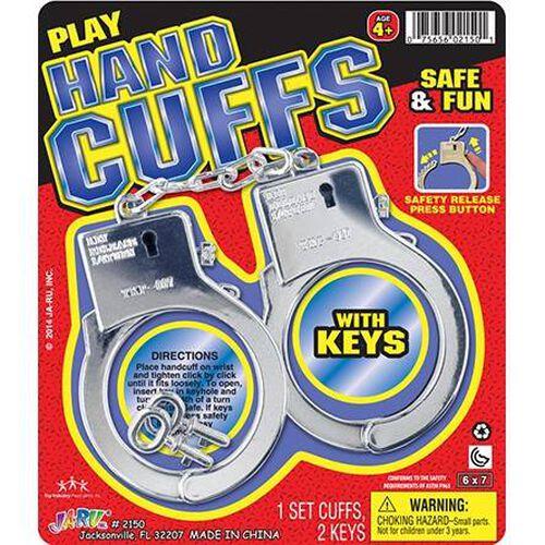 Ja-Ru Plastic Hand Cuffs