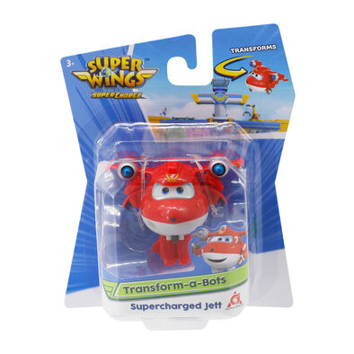 Super Wings Transform-A-Bots Supercharged Jett