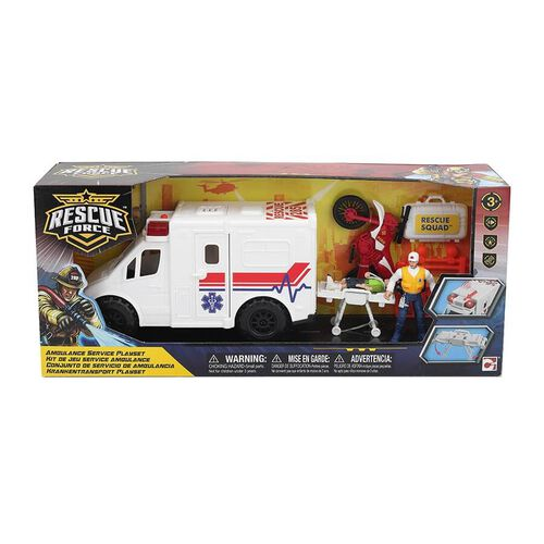 Rescue Force Ambulance Playset