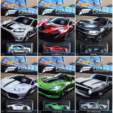 Hot Wheels Forza Motorsport Diecast - Assorted
