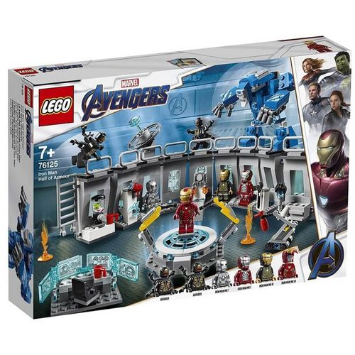 LEGO Marvel Avengers Iron Man Hall of Armor 76125