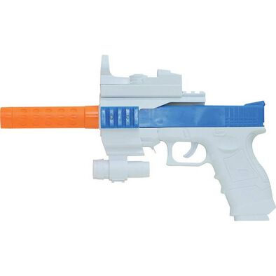 True Heroes Action Blaster With Silencer