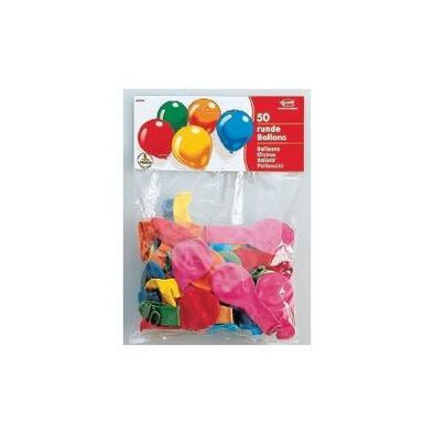 Everts 50 Pc Round Balloons