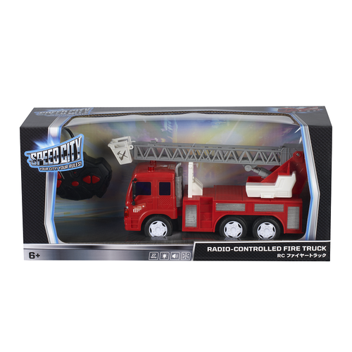 Speed City Radio-Controlled Fire Truck