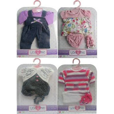 You & Me 12-14' Playtime Outfit - - Assorted