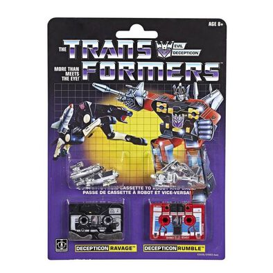 Transformers G1 Cassette 2 Pack