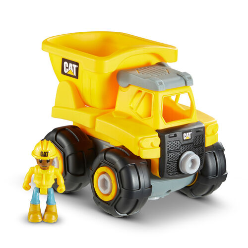 Cat Junior Crew Build Your Own Vehicle Construction - Assorted