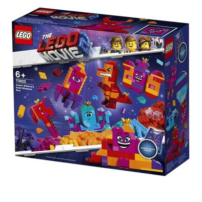 LEGO Movie 2 Queen Watevra's Build Whatever Box 70825