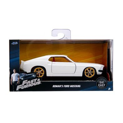 Die Cast Collected Series Fast & Furious 1:32 1969 Roman's Ford Mustang