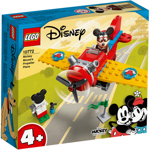 LEGO Mickey And Friends Mickey Mouse's Propeller Plane 10772