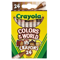 Crayola Colors Of The World 24 Count Crayons