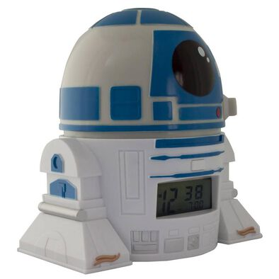 Bulbbotz Star Wars 5 Inch Night Light Alarm Clock R2-D2