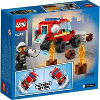Lego City Fire Hazard Truck 60279