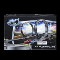 Speed City Slot Racer-Double Loop