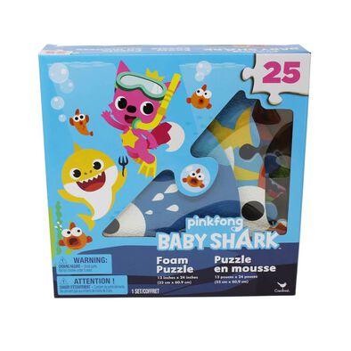 Pinkfong Baby Shark 25 Piece Foam Floor Puzzle