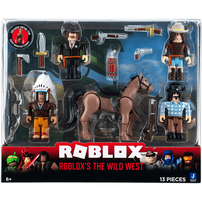 Roblox The Wild West 5 Figure Pack