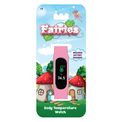 Kids Temperature Watch Fairies
